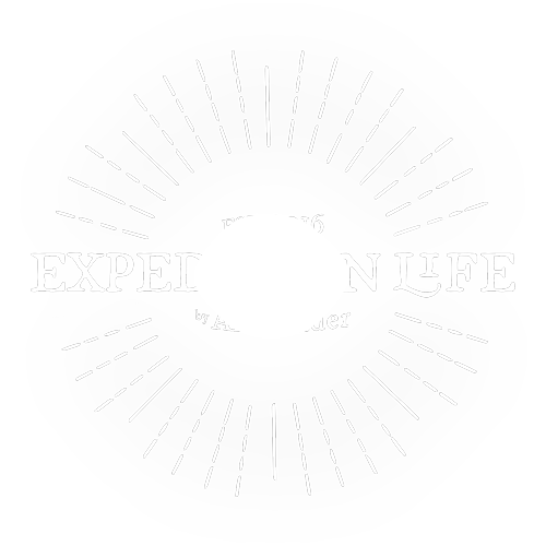 Expedition Life Podcast Logo white
